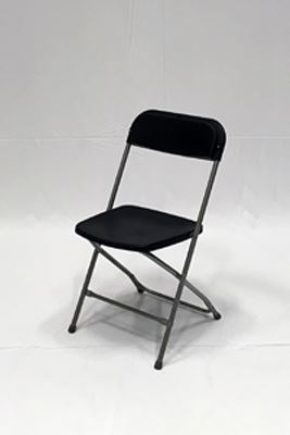 Picture of Smart chair, black plastic seat
